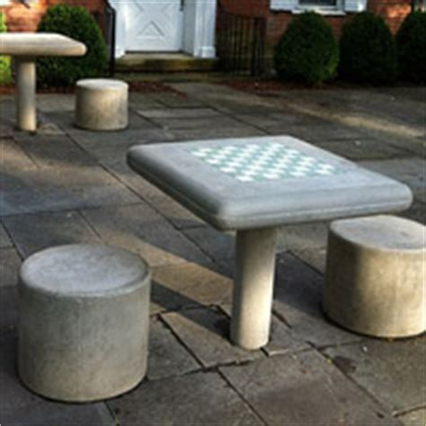 outdoor chess table concrete classics new york style chess tables and park 1290