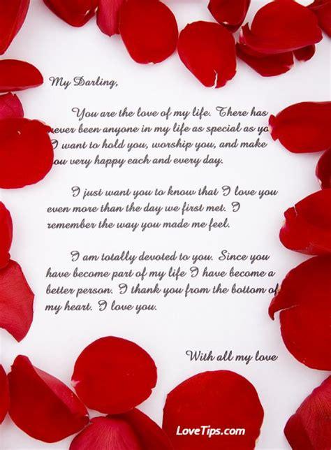 beautiful love letters sample love letters