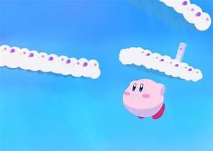 Kirby Flying through Grape Garden Wallpaper by Kayachlata ...