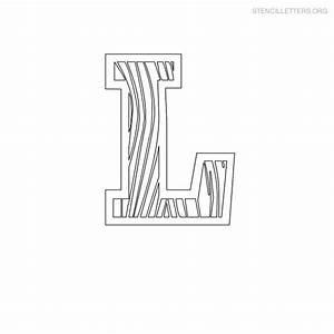 stencil letters l printable free l stencils stencil With letter stencils for wood