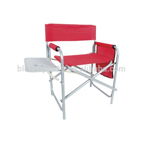 lightweight chair folding director chair with table