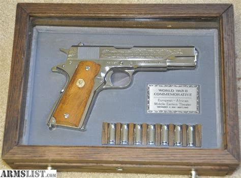 armslist  sale colt world war ii ww commemorative
