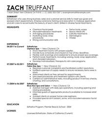exle skills for resume skill based resume exles