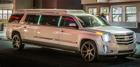 Airport Limo Rental by Las Vegas Airport Express Escalade Limo Presidential