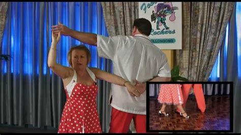 50 s rock n roll dance another free lesson i footloose dvd youtube