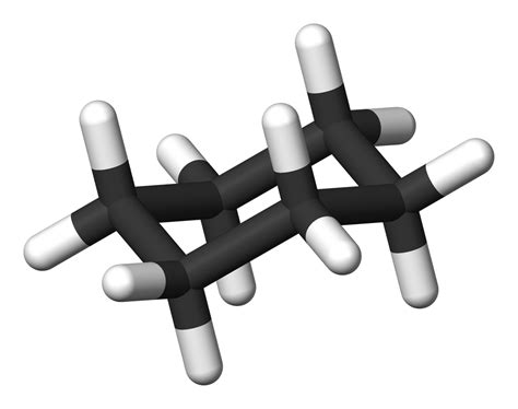 Chair Conformation Of Cyclohexane 3d by Img