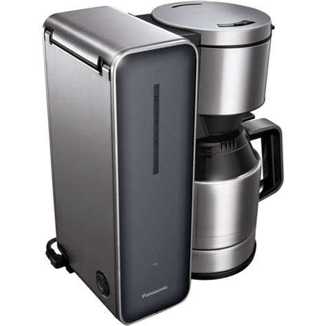Carafe temperature control offers a heater plate with high, medium and low settings to keep coffee at the temperature you prefer. Panasonic Smoke 8-cup Stainless Steel/ Glass Finish Coffee Maker - Walmart.com - Walmart.com