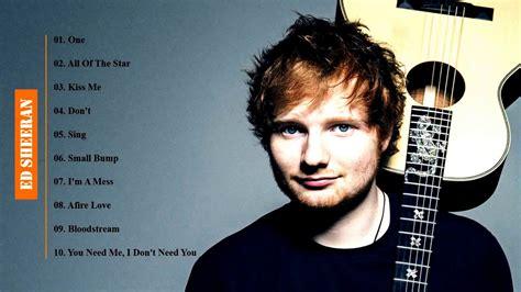 Best Of Ed Sheeran Greatest Hits  Ed Sheeran Songs