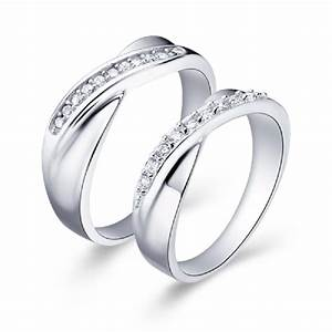 promotion sold by 2 pcs new 2016 silver plated pair With pair wedding rings