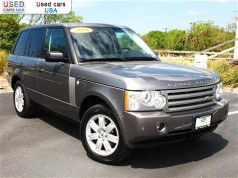 For Sale 2008 Range Rover Hse, Sarasota, Insurance Rate