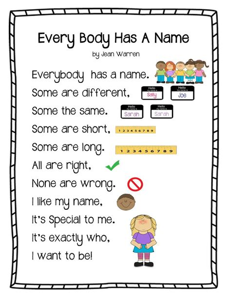 the gallery for gt all about me preschool printable