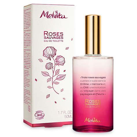 melvita eau de toilette roses sauvages 50 ml boutique bio