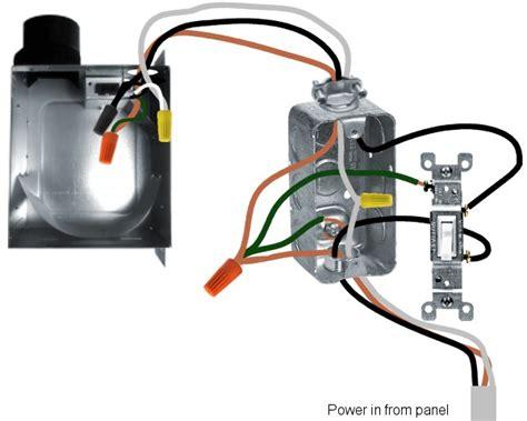 New Bath Exhaust Fan Wiring Questions Doityourself