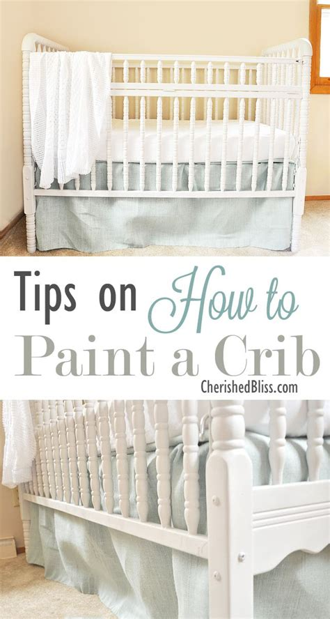 Baby Biting Crib Paint by Tips On How To Paint A Crib Diys Crafts Recipes