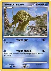 Pokemon lake moster