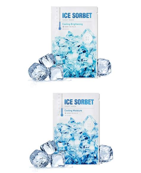 box korea missha sorbet sheet mask 30g best price and fast shipping from