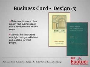 The business card principles part 1 design dosdon39ts for Business card design principles