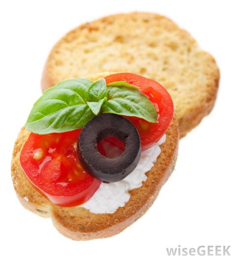canape hors d oeuvres what are some different kinds of canapés with pictures
