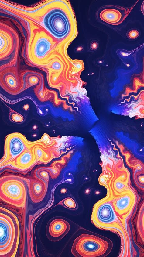 Wallpaper Iphone Psychedelic Art  2018 Iphone Wallpapers