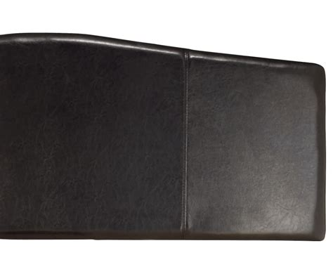 black leather headboard rosie black faux leather headboard just headboards