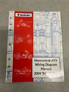 2004 Suzuki K4 Model Motorcycle  U0026 Atv Factory Shop Repair