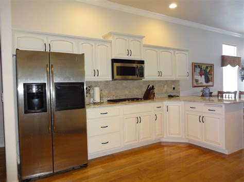 Wood Dover White Cabinets by Photo Gallery Refinishing Cabinets Boise
