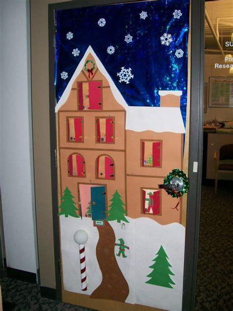 cool christmas door decorations  piece