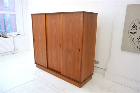 vintage teak wardrobe danish design
