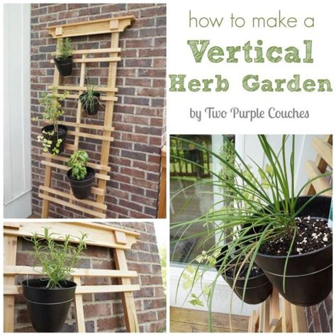 How To Make A Vertical Pallet Garden by How To Make A Vertical Herb Garden Hometalk