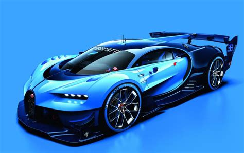 concept bugatti spectacular bugatti vision gran turismo concept revealed