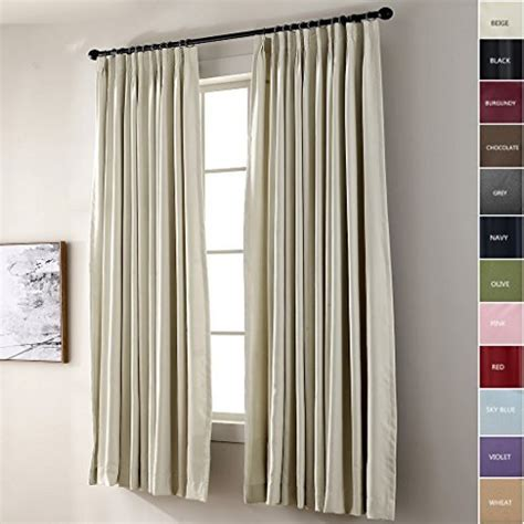 Pinch Pleated Drapes Traverse Rod - traverse curtains