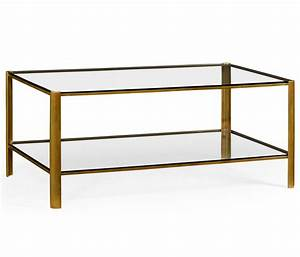 brass glass coffee table With small brass and glass coffee tables