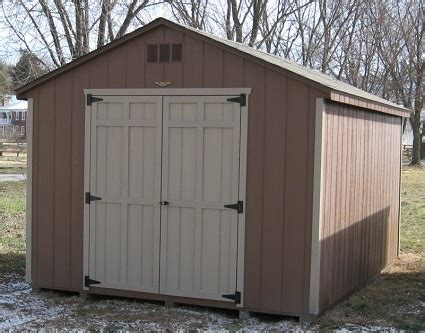 Budget sheds at alan's factory outlet are cheap in price only. Wood Sheds For Sale