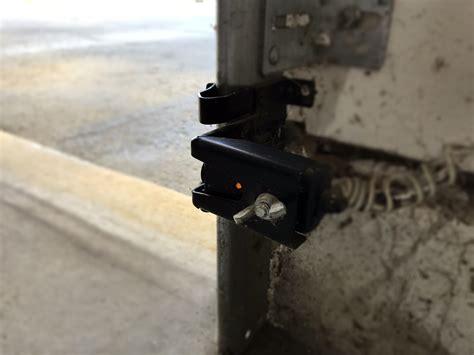 garage door sensors how to realign your garage door sensors the overhead