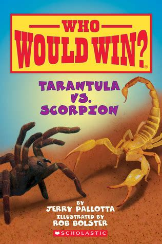 tarantula  scorpion  jerry pallotta reviews discussion bookclubs lists