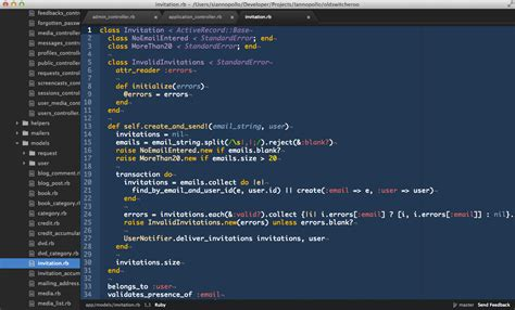 ide ruby editor atom developers web editors approachable yet text modern