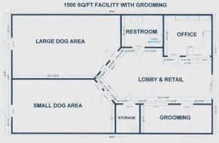 Dog Daycare Layout Floor Plan