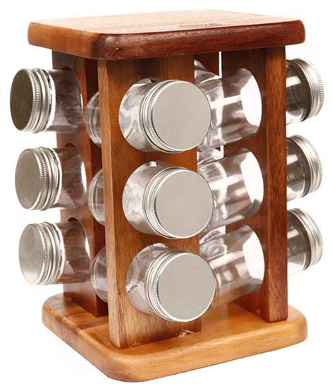 Spice Rack Buy by Billi Thailand Wooden Spice Rack Buy At Best