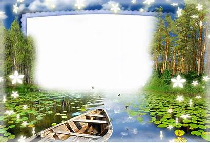 Nature Frame Frames Desktop Transparent Fonds Ecran