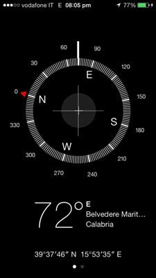 how to use iphone compass how to use the iphone compass and level dummies