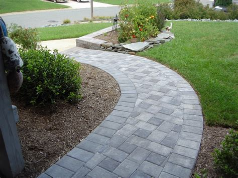 paver sidewalk designs expands your sense of outdoor living space with pathway designs home design interiors