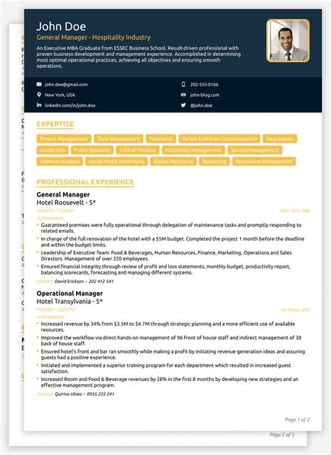 Current Cv Sles by 2018 Cv Templates Create Yours In 5 Minutes