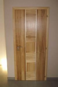 portes interieures bois pas cher With porte de garage enroulable et porte intérieure acoustique
