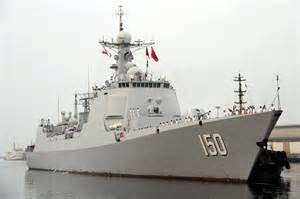 Chinese Navy Ships Destroyers