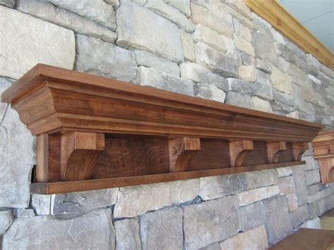 Mantle Corbels by Rustic Fireplace Mantel Shelf Corbels Craftsman