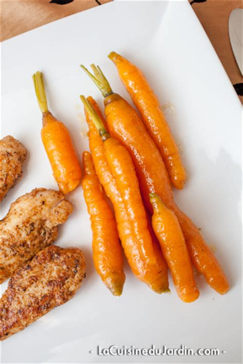 cuisiner des carottes nouvelles carottes nouvelles glacées méthode joël robuchon la