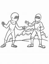 Coloring Olympic Pages Fencing Fencer Boxing Template Library Clipart Line sketch template
