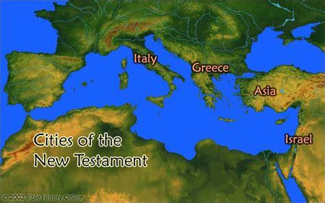 map    testament world  century ad bible
