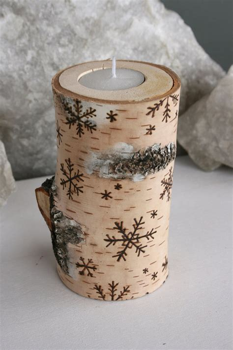 birch candle holders 17 easy diy candle holders