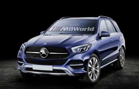 Here's What The 2019 Mercedesbenz Gle Might Look Like